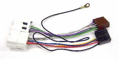 Schema Cablaggio Autoradio Yaris : Connettore cablaggio autoradio iso per nissan micra u e ebay