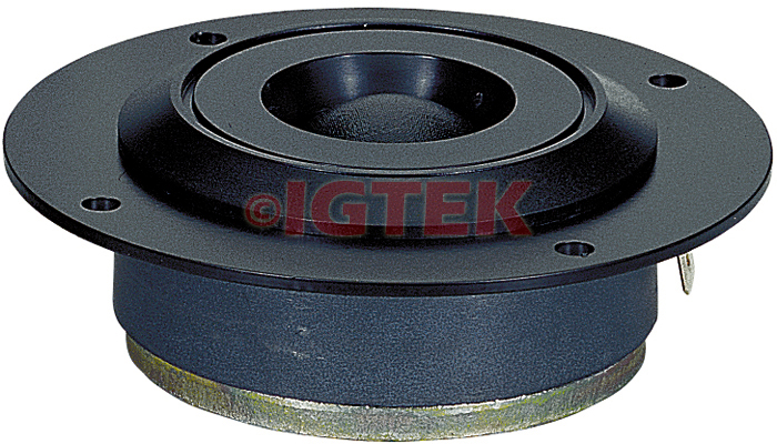 "IGTEK - TWEETER IN SETA CIARE CT263 250 WATT MAX - 4 OHM -  26 MM / 1"" - 10 CM"