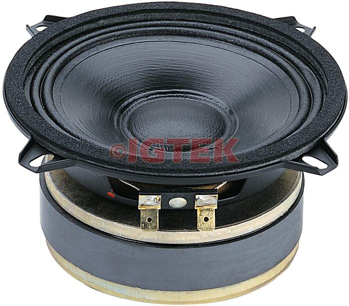 """IGTEK - MID RANGE MEDIO CIARE PROFESSIONAL PM132 200 WATT MAX - 8 OHM -  13 CM / 5"""""""