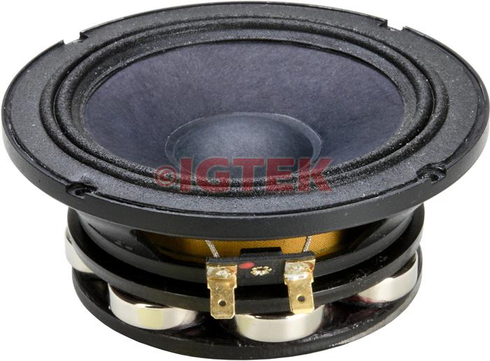 """IGTEK - MID RANGE MEDIO CIARE PROFESSIONAL PM135ND 160 WATT MAX - 8 OHM -  13 CM / 5"""""""