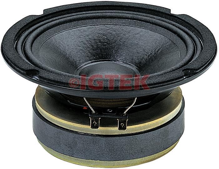 """IGTEK - MID RANGE MEDIO CIARE PROFESSIONAL PM160 200 WATT MAX - 8 OHM -  16 CM / 6"""""""