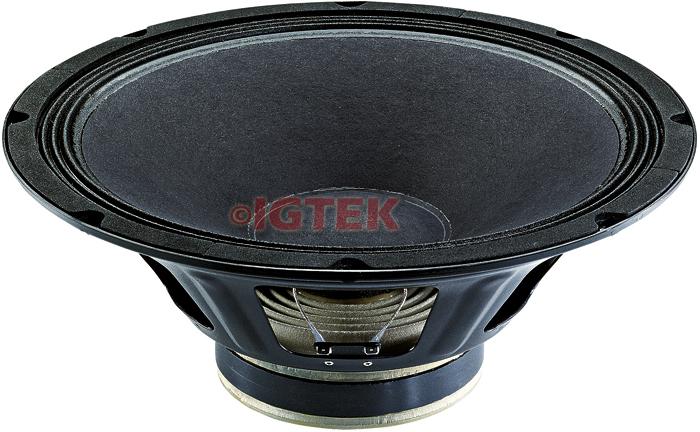 """IGTEK - WOOFER CIARE PROFESSIONAL PW388 500 WATT MAX - 8 OHM -  38 CM / 15"""""""