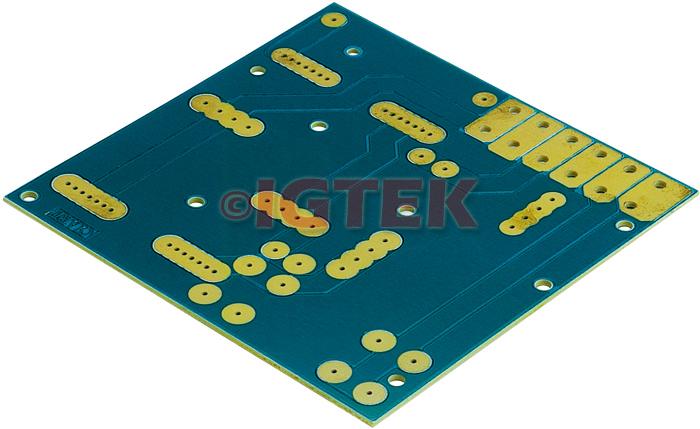 IGTEK - CIRCUITO STAMPATO UNIVERSALE CIARE PER AUTOCOSTRUZIONI YCS001 2 VIE - 125X120 MM