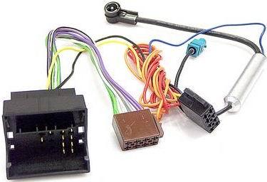connettore cablaggio autoradio iso per opel corsa d 06 con adattatore antenna fakra iso. Black Bedroom Furniture Sets. Home Design Ideas