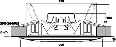 MONACOR SPE-264/WS