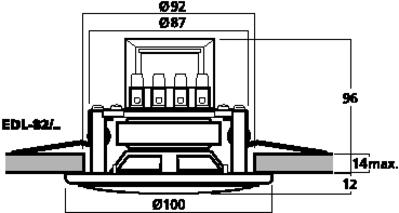 MONACOR EDL-82/WS