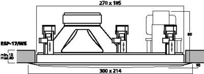 MONACOR ESP-17/WS