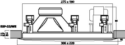 MONACOR ESP-22/WS