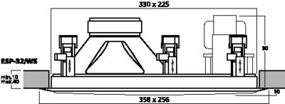 MONACOR ESP-32/WS