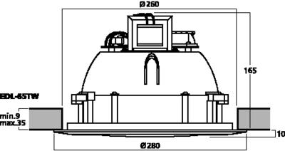 MONACOR EDL-65TW