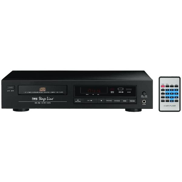Img stage line cd 156 lettore cd e mp3 stereo con porta usb 2 0 per hi fi e pa - Lettore mp3 da tavolo ...
