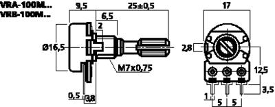 MONACOR VRB-100M100