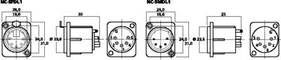 NEUTRIK NC-5MDL1