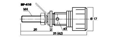 MONACOR BP-410