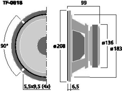 CELESTION TF-0818