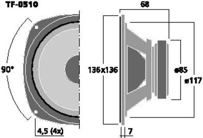 CELESTION TF-0510