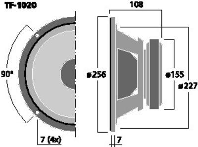 CELESTION TF-1020
