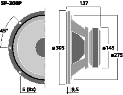 MONACOR SP-300P