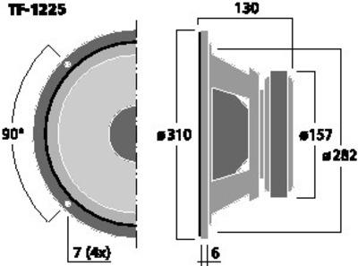 CELESTION TF-1225