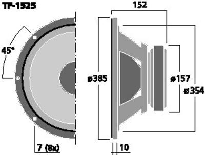 CELESTION TF-1525