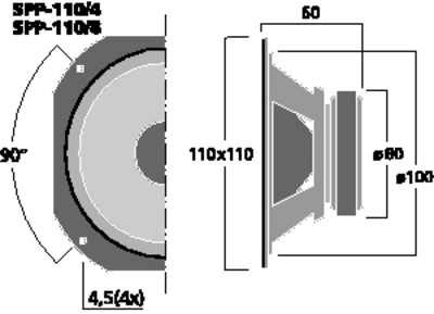 MONACOR SPP-110/8