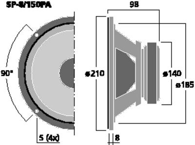 IMGSTAGELINE SP-8/150PA
