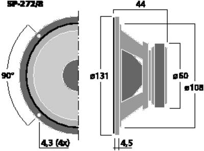 MONACOR SP-272/8