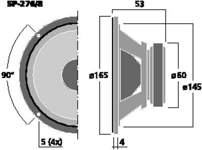MONACOR SP-276/8
