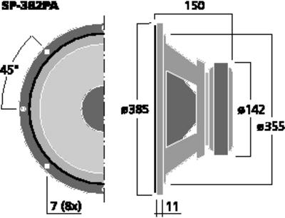 MONACOR SP-382PA