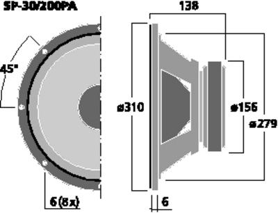 IMGSTAGELINE SP-30/200PA