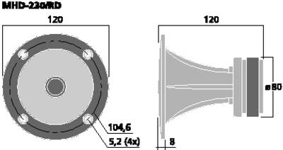 IMGSTAGELINE MHD-230/RD