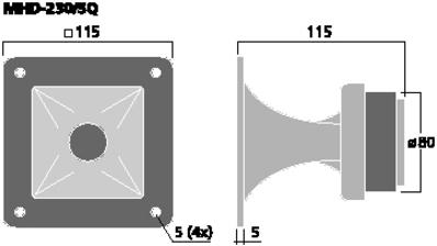 IMGSTAGELINE MHD-230/SQ