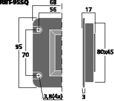 MONACOR RBT-95SQ