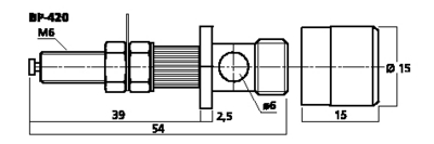 MONACOR BP-420