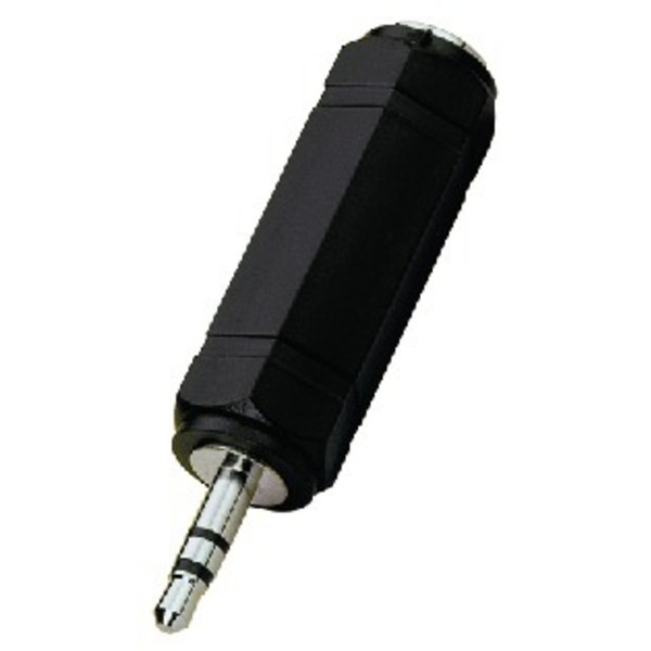 IGTEK - MONACOR HA-36 ADATTATORE JACK 3,5 MM STEREO SU JACK FEMMINA 6,3 MM