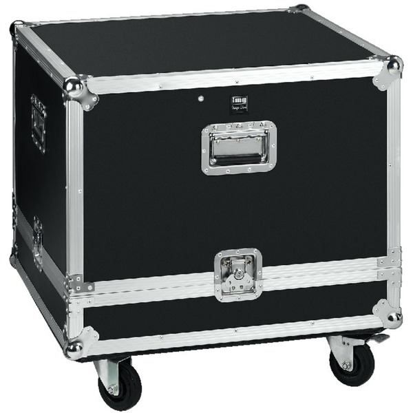 IGTEK - IMG STAGE LINE MR-1000L FLIGHT CASE�UNIVERSALE CON RULLI 693X646X518MM PER L-RAY