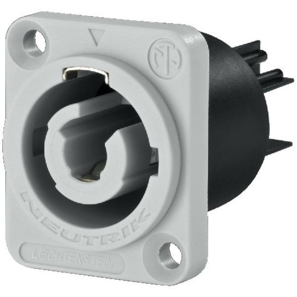 Pannello Solare Con Presa Elettrica : Neutrik nac mpb presa da pannello uscita powercon