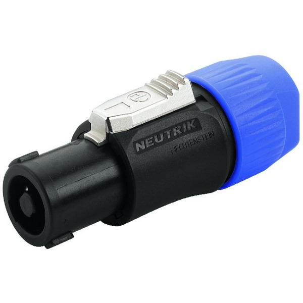 IGTEK - NEUTRIK NL-4FC CONNETTORE NEUTRIK SPEAKON 4 POLI X CAVI 6-15MM - PROFESSIONALE