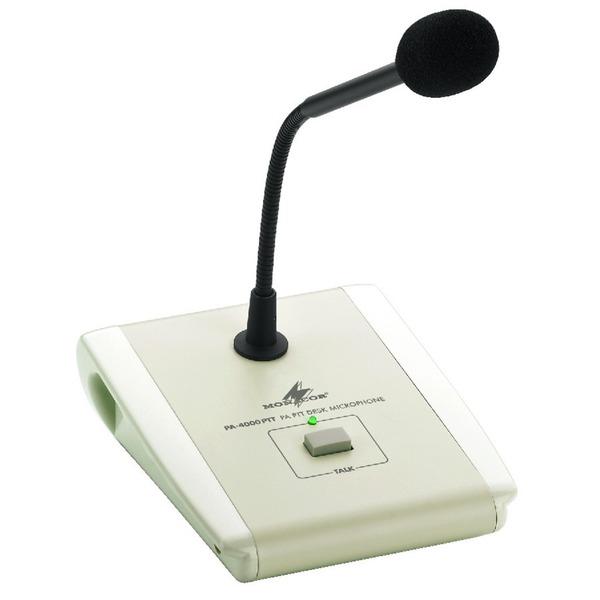 Monacor pa 4000ptt microfono pa ptt da tavolo presa din 7poli x amplificatori pa - Microfono da tavolo wireless ...