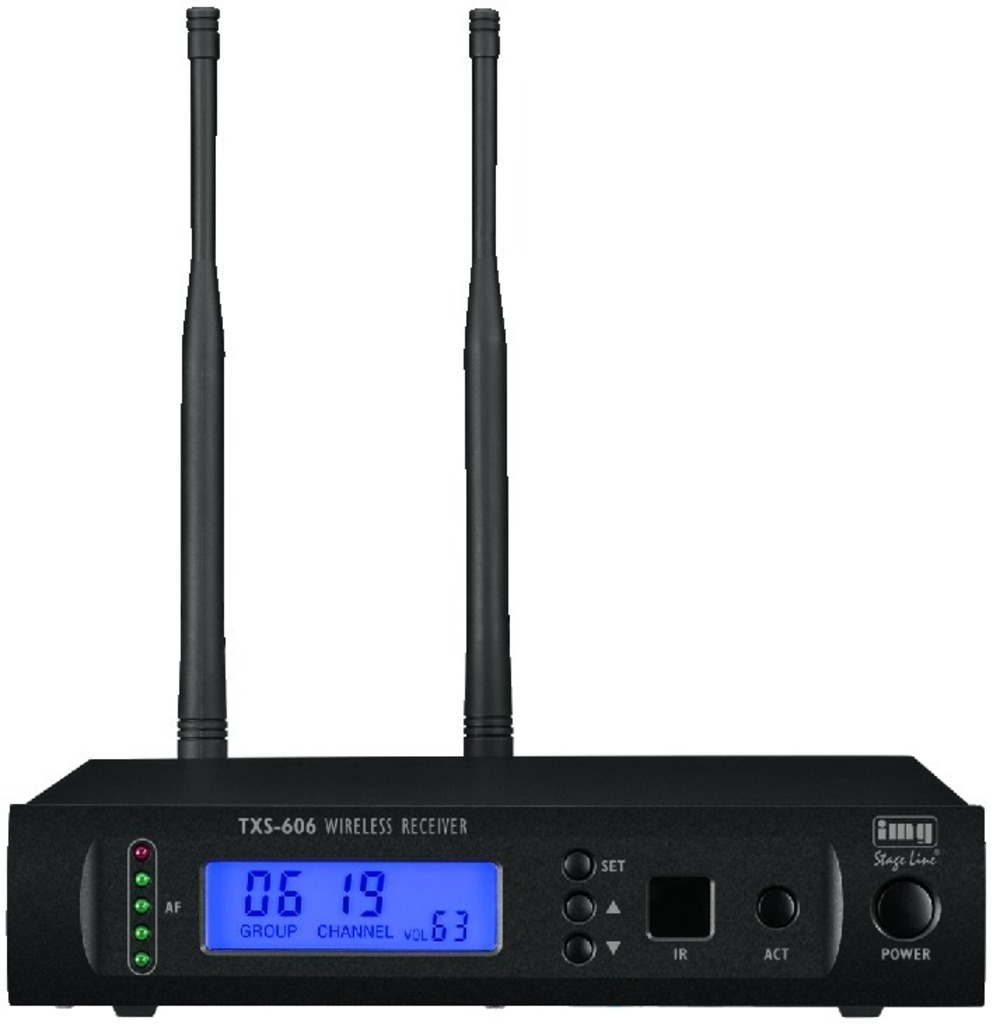 IGTEK - IMG STAGE LINE TXS-606 RICEVITORE MULTIFREQUENZA WIRELESS MICROFONO UHF 1000 CH