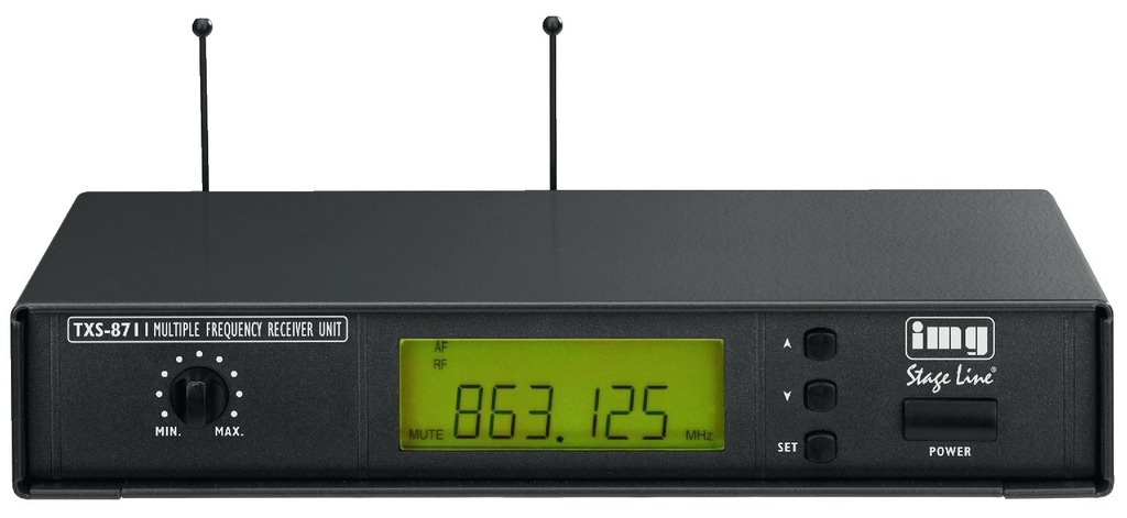 IGTEK - IMG STAGE LINE TXS-871 RICEVITORE UHF PLL HQ X MICROFONO - 863.125 > 864.875 MHZ