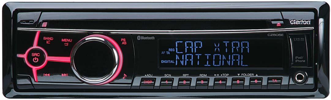 AUTORADIO CLARION CZ505E DAB / BLUETOOTH CD/MP3/AUX