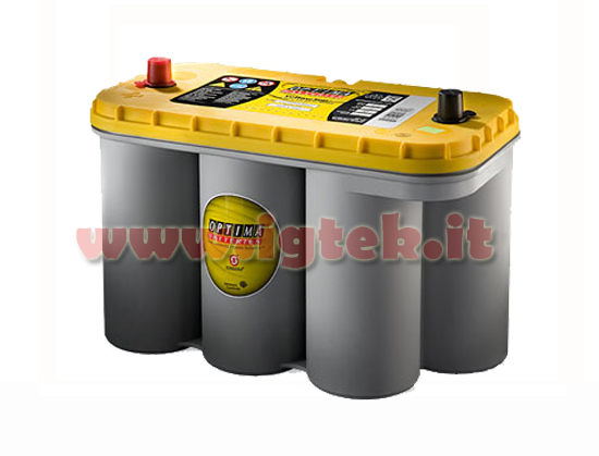 batteria optima yellow top yt s 5 5 12v 75ah spunto 1125a. Black Bedroom Furniture Sets. Home Design Ideas
