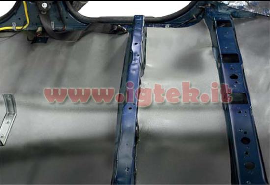 Stp isolante acustico e termico x auto stp spl08 3 fogli - Materiale isolante termico ...