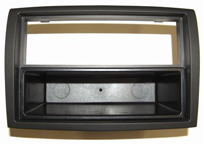 mascherina supporto autoradio doppio iso x fiat ducato 39 06 colore nero. Black Bedroom Furniture Sets. Home Design Ideas